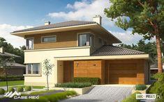 proiect casa cu etaj pret Rodrigo III G1 Design Case, Mansions, House Styles, Outdoor Decor, Modern, Home Decor, Blue Prints, Trendy Tree, Decoration Home