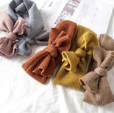 10-K Sanwood Baby Headbands Newborn Kids Girl Colorful Elastic Hairband Knot Rabbit Bow Headwear