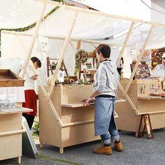 Kiosk Design, Cafe Design, Booth Design, Retail Design, Store Design, Market Stall Display, Farmers Market Display, Atelier Home, Food Cart Design