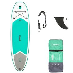 A stable and easy-to-handle inflatable stand-up paddle board (SUP) for users weighing less than 60 kg, for touring or surfing small waves. Sup Boards, Inflatable Paddle Board, Inflatable Sup, Aikido, Taekwondo, Judo, Jiu Jitsu, Karate, Sup Shop