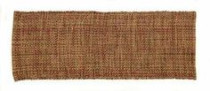 """Cottage Lane Collection Olive Multi 13"""" x 36"""" Table Runner by Victorian Heart, Co., Inc.. $8.95. 13"""" x 36"""" Table Runner. 100% cotton. For best results, machine wash gentle cycle, line dry. a """"basket weave"""" pattern in primitive olive, burgundy and tan. For color and texture, try the Cottage Lane Collection. Available in 8 colorways, each item is constructed with a unique """"basket weave"""" pattern."""