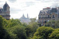 View of Montmartre and Sacré-Coeur - Paris