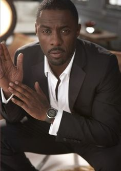 Idris Elba...because you would, wouldn't you