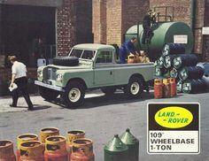 Land Rover 1 Ton Brochure