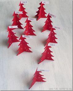 [Calendario dell'Avvento] Progetto faidate 21 Segnaposti fai da te per la tavola di Natale | cafe creativo | Bloglovin'