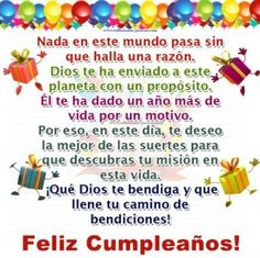Best Quotes Birthday Wishes Families Happy 41 Ideas Spanish Birthday Wishes, Happy Birthday Ecard, Happy Birthday Quotes For Friends, Birthday Poems, Happy Birthday Pictures, Birthday Messages, Birthday Greetings, Birthday Cards, Happy B Day