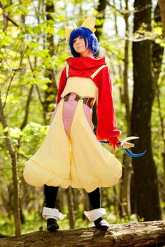 Eiko as cute as she wanna be. From Final Fantasy IX. http://firikururugi.deviantart.com/art/Eiko-Carol-what-next-163831645?q=boost%3Apopular%20Final%20Fantasy%20IX%20Cosplay&qo=99