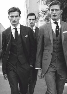 Real men wear 3 piece suits. #Suits #PowerPlayers