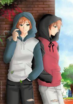 twins in art | Hikaru x Kaoru TWINCEST ! twins fan-art