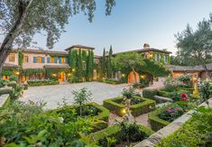 765 Rockbridge Rd, Montecito, CA 93108 Italian Cypress Trees, Entry Gates, European House, Maine House, Virtual Tour, Hedges, Santa Barbara, New Construction, Interior And Exterior