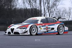 Alfa Romeo Giulia - DTM-Version - Photoshop