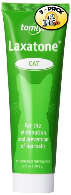 Vetoquinol Laxatone Paste for Eliminating Pet Hairballs, 4.25-Ounce (Pack of 3) ** Find out more details by clicking the image : Cat Supplies