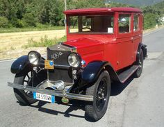 """Fiat - 509 A """"Weymann"""" - 1928"""