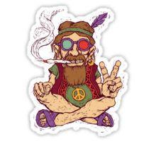 Hippy Sticker