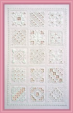 Hardanger Sampler by MaryHickmottDesigns on Etsy