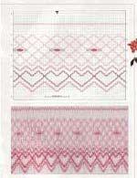 Smocking pattern