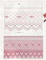 Country Bumpkin Online - Articles - Free Designs - Symphony of Roses free smocking design