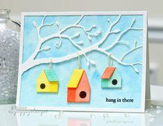 jj bolton {handmade cards}: Poppystamps Challenge: Spring Fling