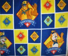 Cub Scout Print Fleece