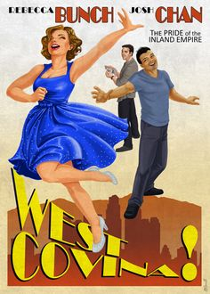 West Covina - the Musical! (Crazy Ex-Girlfriend) Ok here's the story: I really love the show Crazy Ex-Girlfriend. It's super smart (a mobius strip joke in a girl power song? Yes please.), it has a realistic outlook on people that could easily be...