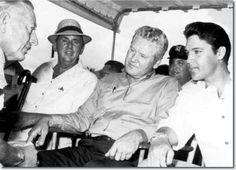 Colonel Parker, Vernon and Elvis Presley