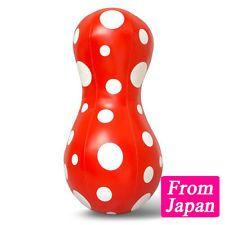 Yayoi Kusama Balloon soft sculpture S (Red) cushion Art Goods Japan