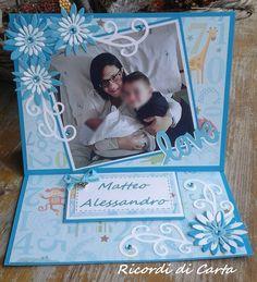 Ricordi di Carta : EASEL CARD CON FOTO