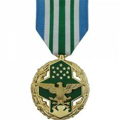 The Joint Service Commendation Medal (JSCM) is a decoration presented by the… Military Medals And Ribbons, Us Military Medals, Military Honors, Military Awards, Military Insignia, Military Veterans, Military Service, Military Life, Air Force Medals