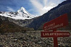 Acabo de compartir la foto de Milton Rodriguez Triviños que representa a: Nevado Artesonraju - Caraz