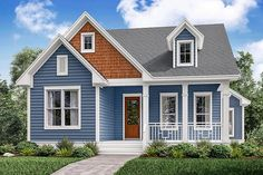 Traditional Plan: 2,155 Square Feet, 3 Bedrooms, 2.5 Bathrooms - 041-00149