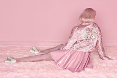 Surreal and Colorful Feminine Photography by Carolina Mizrahi Feminine Photography, Fashion Photography, Pastel Grunge, Pastel Pink, Pastel Colours, Girly, Manish Arora, Everything Pink, Gareth Pugh