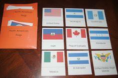 North American Continent Box