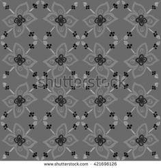 Tile pattern art. Watercolor hand drawn seamless pattern. Floral pattern. Tile…