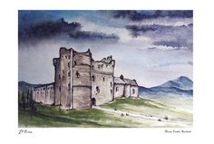 Doune Castle Outlander Scottish Filming by TheJunkShopCafe on Etsy