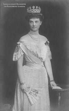 Alexandra Grand Duchess of Mecklenberg-Schwerin nee Princess of Hanover