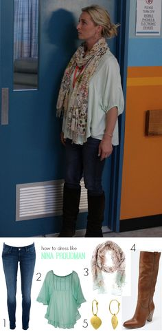 We interrupt our regular Nina Proudman style program to bring you some style thoughts from Jane Harber, the actor who plays Zara in Ten's Offspring. Hipster Outfits, Hipster Fashion, Teen Fashion, Retro Fashion, Boho Fashion, Cool Outfits, Fashion Outfits, Hipster Style, How To Wear Scarves
