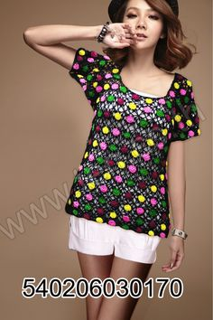 Crochet Blouse, Knit Crochet, Crochet Tops, Crochet Woman, T Shirt, Shirt Dress, Short Tops, Crochet Clothes, Crochet Dresses
