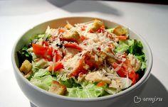 Пробуем весну на вкус вместе с салатом «Цезарь»   www.wmj.ru