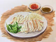 #鹽水鵝肉#台灣小吃