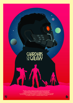 Guardians of the Galaxy by Matt Needle for Poster Posse Project #9