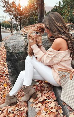 #outfits #fall #fashion Cream Shoulder Less Sweater // White Skinny Jeans // Suede Bootie