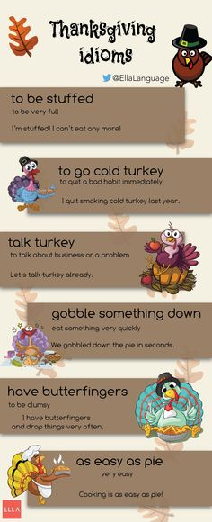 Thanksgiving Idioms                                                                                                                                                                                 More