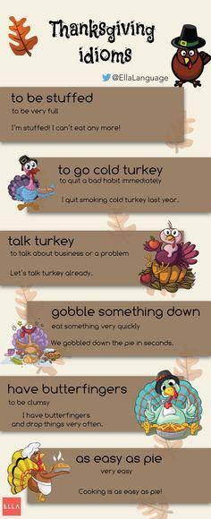 Thanksgiving Idioms