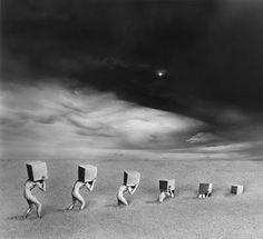 Misha Gordin: fotografia concettuale tramite manipolazione analogica ~ Fotografia Artistica Blog G. Santagata