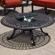Found it at Wayfair - Del Mar Chat Table