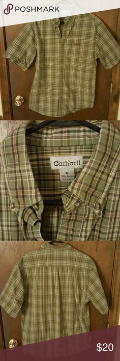Mens carhart shirt Perfect condition carhart  Shirts Casual Button Down Shirts