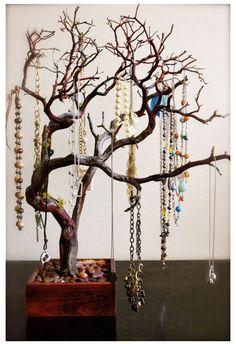 tree branch jewelry