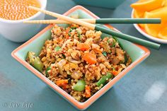 15 Ways to Make the Best Fried Rice Ever Veggie Recipes, Asian Recipes, Vegetarian Recipes, Dinner Recipes, Healthy Recipes, Rice Recipes, Healthy Cooking, Healthy Eating, Cooking Recipes
