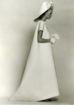 Balenciaga Wedding Gown / Summer 1968
