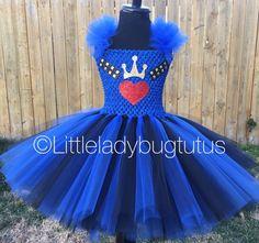 Evie from Descendants Tutu Dress. Perfect for birthdays! by LittleLadybugTutus on Etsy